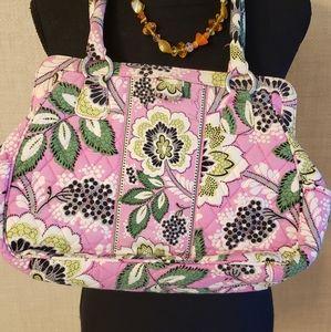 Rare Vera Bradley Pink Paisley Print Snap Bag